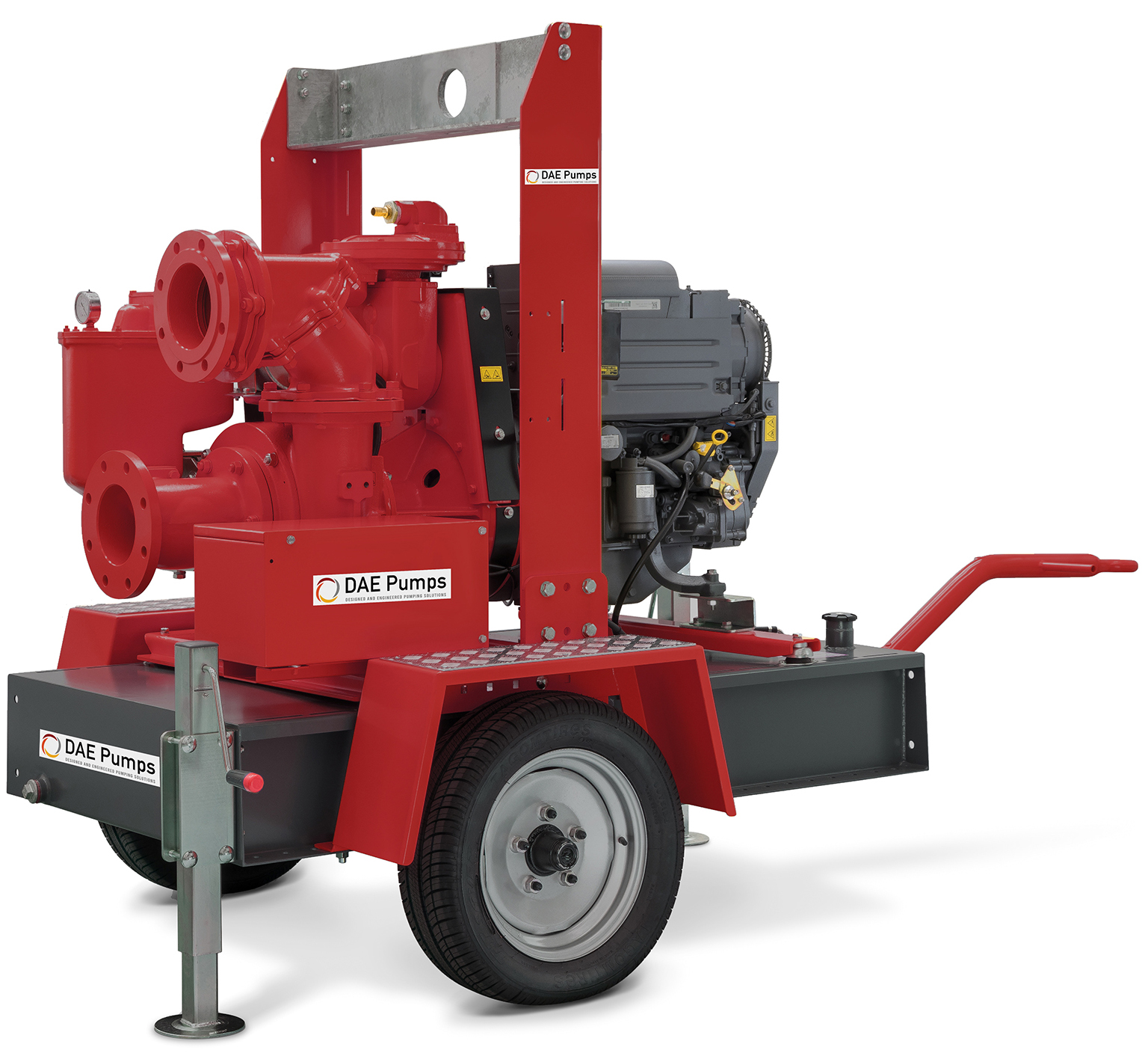 DAE Pumps Appalachian Series Dewatering Surface Pumps