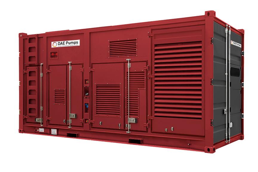DAE Pumps DUOPack Power Generators