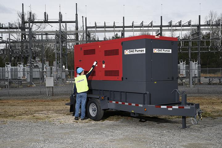 DAE Pumps Horton 330 Mobile Power Generator