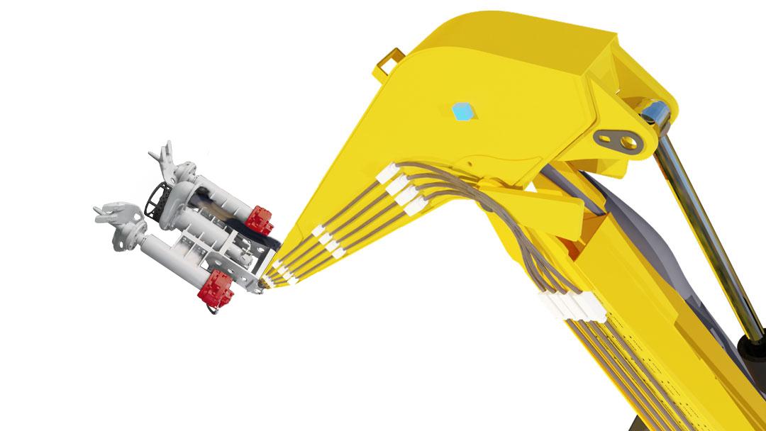 Hawk Long Reach Excavator Arm Boom