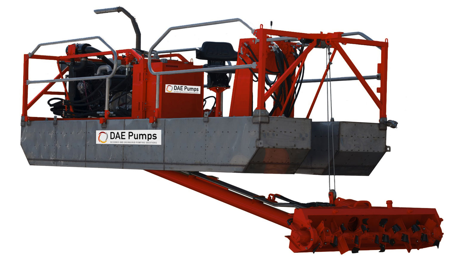 DAE Pumps Starter Pontoon Dredge