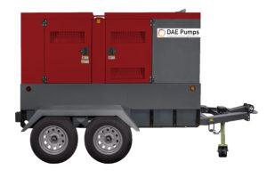 DAE Pumps Horton 125 Mobile Diesel Generator
