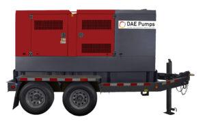 DAE Pumps Horton 150 Mobile Diesel Generator