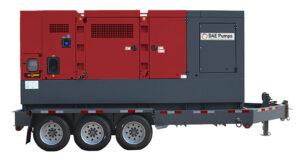 DAE Pumps Horton 625 Mobile Power Generator