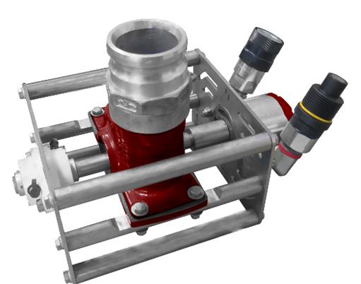 La Paz 3D-SM Hydraulic Submersible Slurry Pumps