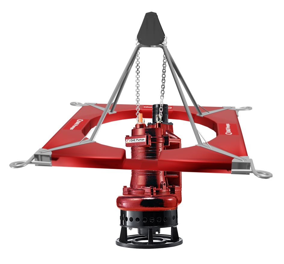 DAE Pumps A-Frame Mini Dredge