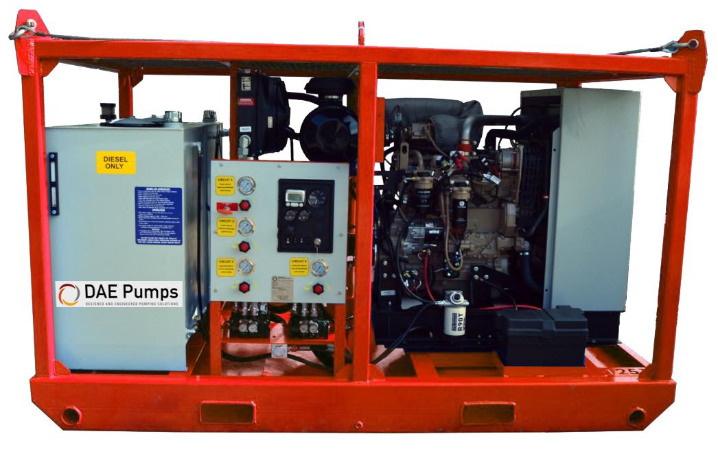 DAE Pumps Prime 154 Hydraulic Power Unit