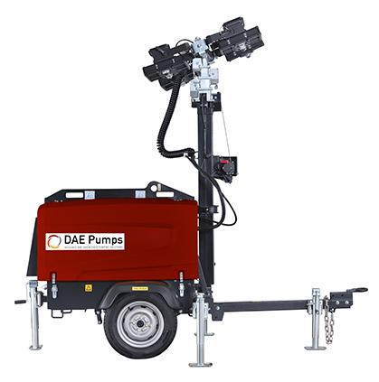 DAE Pumps SITE D5 Mobile Light Tower