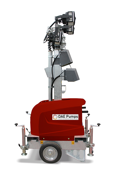 DAE Pumps SITE E3 Electric Mobile Light Tower