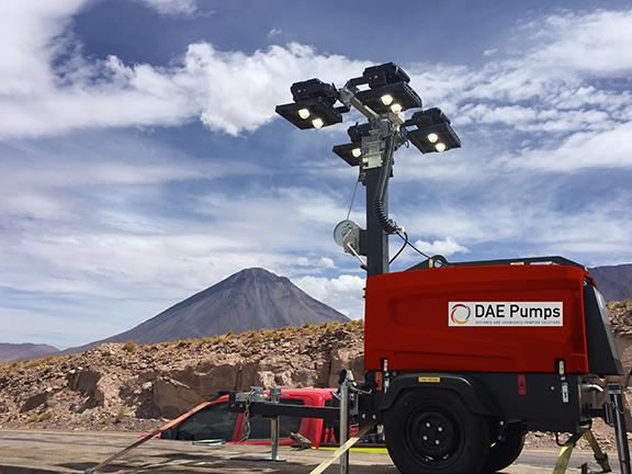 DAE Pumps SITE V5 Mobile Light Tower