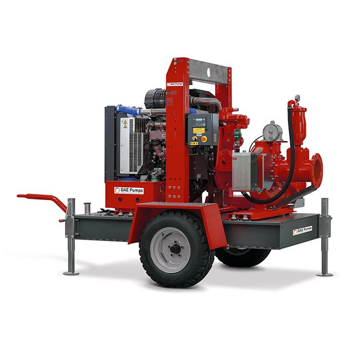 DAE Pumps Appalachian 80 Self-Priming Pump with Trailer