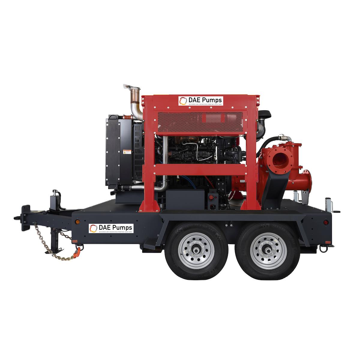 DAE Pumps Appalachian H1080 Self-Priming Pump with Trailer