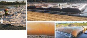 Coal Ash Dewatering Geotubes