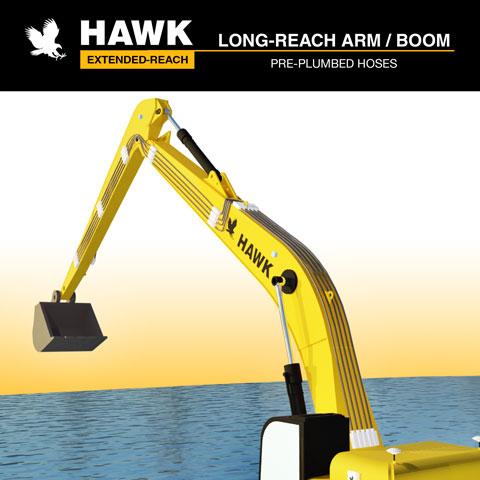 dae-long-reach-arm-boom-excavator-hawk