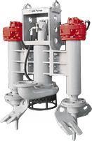 Growler 1000 Excavator-Mounted Dredge Pump