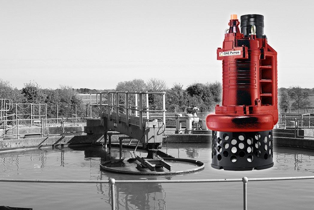 DAE Pumps S-Series Sewage Treatment