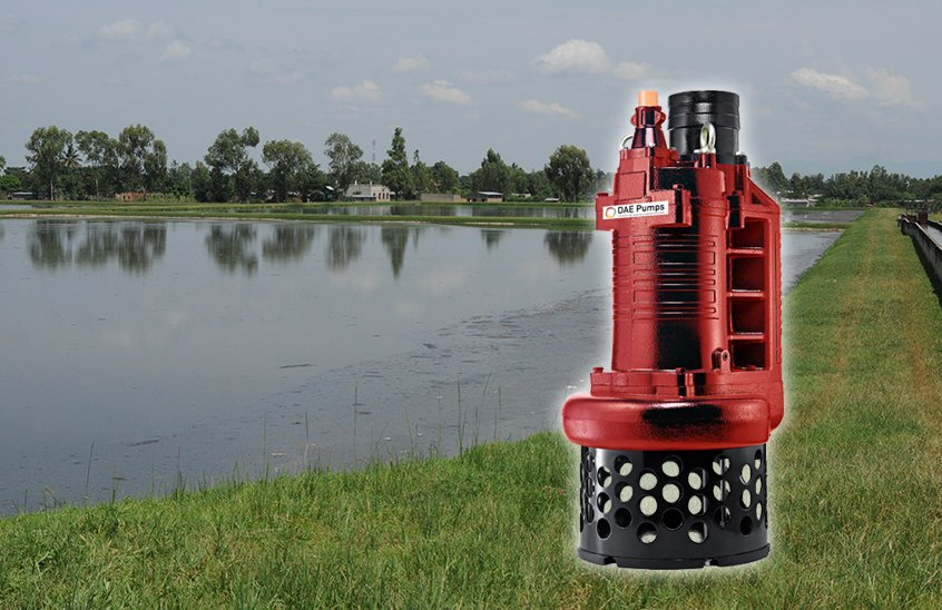 DAE Pumps S-Series Wastewater Lagoon