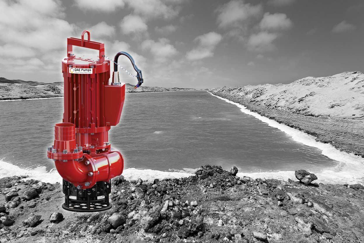 DAE Pumps SLD-Series Salt Mineral Mining