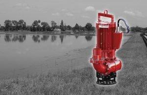 DAE Pumps SLD-Series Wastewater Lagoon