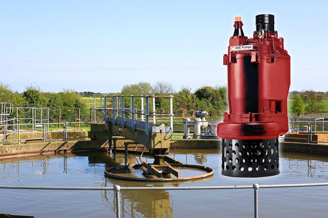 DAE Pumps Tampa Series Sewage Treatment